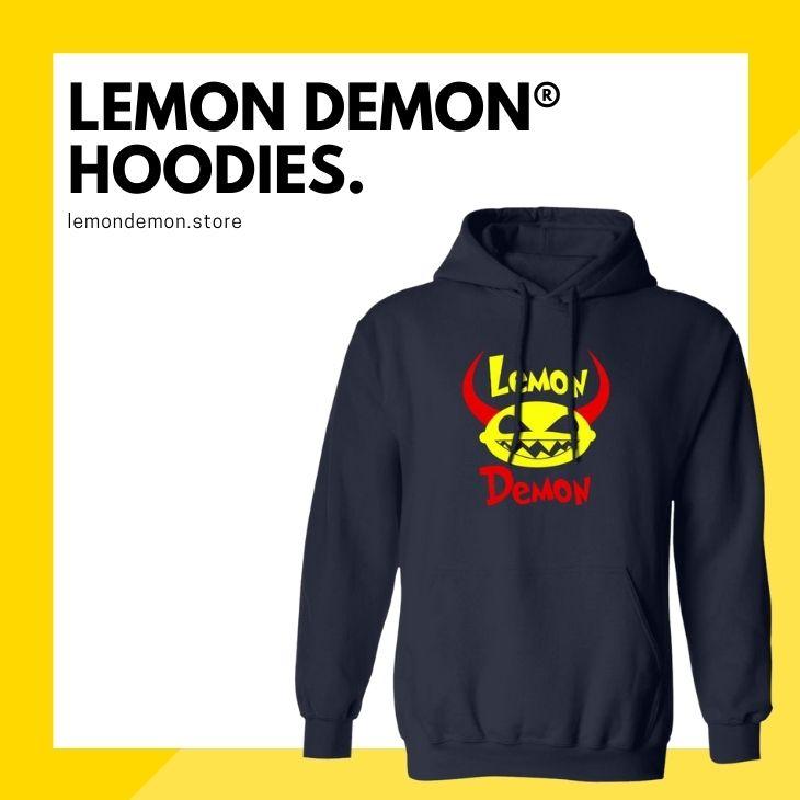 Lemon Demon Hoodies