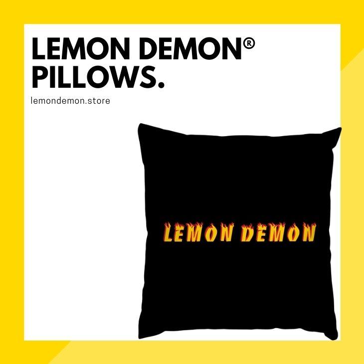 Lemon Demon Pillows