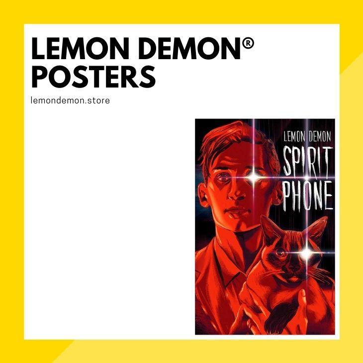 Lemon Demon Posters