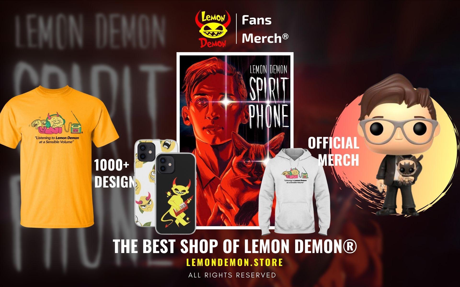 Lemon Demon Merch Web Banner - Lemon Demon Store