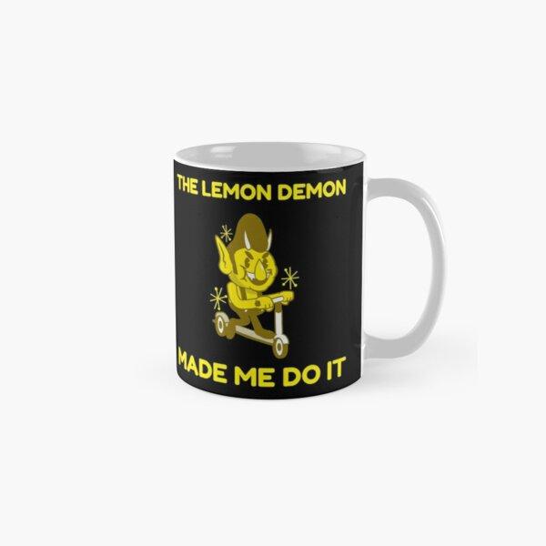 The Lemon Demon Made Me Do It Classic Mug RB1207 product Offical Lemon Demon Merch