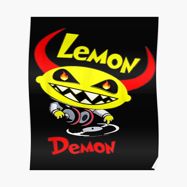 Lemon Demon Dj T-Shirt Poster RB1207 product Offical Lemon Demon Merch