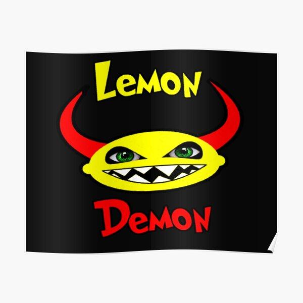 LEMON DEMON Poster RB1207 product Offical Lemon Demon Merch